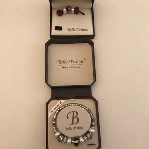 Bella Perlina Bracelet and extra charms